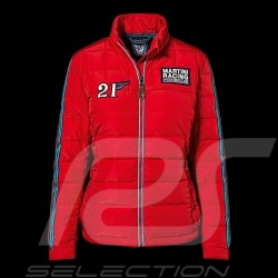 Porsche Jacket Martini Racing Collection quilted red WAP559 - women