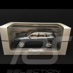 Porsche Cayenne 2017 metallic basque blue 1/43 Minichamps WAP0203110J
