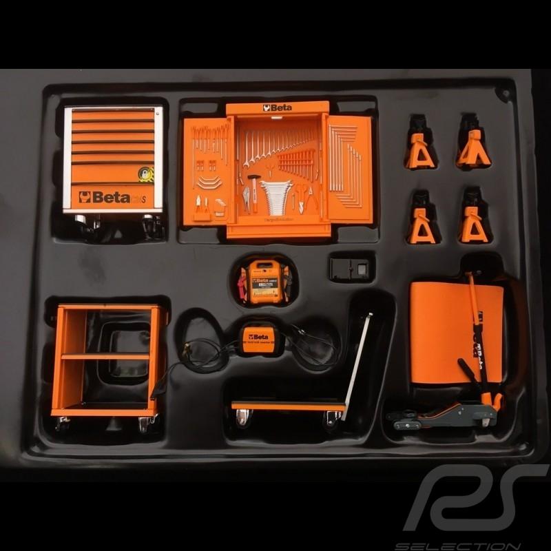 Tool kit orange Beta C24S for diorama 1/18 Truescale TSM13AC25