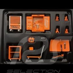 Werkzeugsatz orange Beta C24S für diorama 1/18 Truescale TSM13AC25