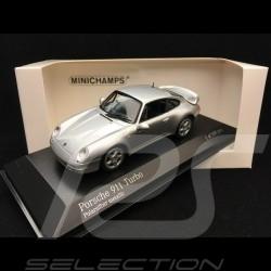 Porsche 911 type 993 Turbo 1/43 Minichamps 943069203 gris argent silver silber