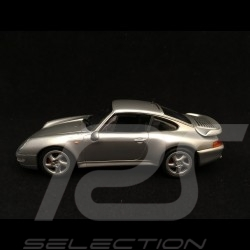 Porsche 911 type 993 Turbo silbergrau 1/43 Minichamps 943069203