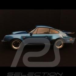 Porsche 911 (930) Turbo 1977 1/12 Minichamps 125066104 bleu métallisé metallic blue blau