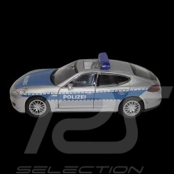 Porsche Panamera Polizei pull back toy Welly