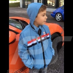 Veste Gulf Racing bleu clair - enfant - Jacket Gulf Racing light blue - Kid - Jacke Gulf Racing hellblau - Kinder