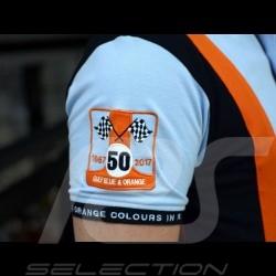Polo Gulf Racing Team 50th anniversary blue - men