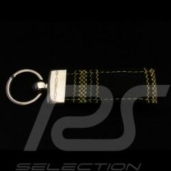 Porte-clés Porsche Tissu de siège à carreaux Porsche Design Keyring Schlüsselanhänger