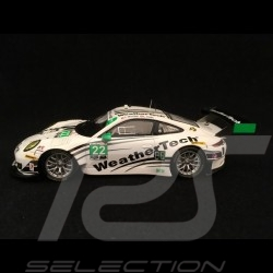 Porsche 911 GT3 R type 991 IMSA Serie 2016 n° 22 Alex Job 1/43 Spark MAP02018216