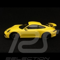 Porsche 911 GT3 type 991 phase II 2017 1/43 Minichamps 410066020 jaune racing yellow gelb