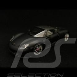 Porsche 918 Spyder Pack Weissach 1/43 Minichamps 410062136 noir mat matt black matte schwarz