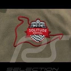 Polo Porsche 550 A 1956 Hans Herrmann Solitude revival beige noisette - femme women damen