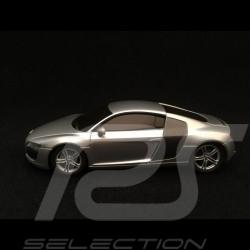 Audi R8 2006 1/43 Kyosho DNX507S gris argent métallisé silver grey silbergrau