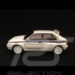 Lancia Delta HF Integrale 6 Martini 1/43 Kyosho DNX303WM blanche white weiß