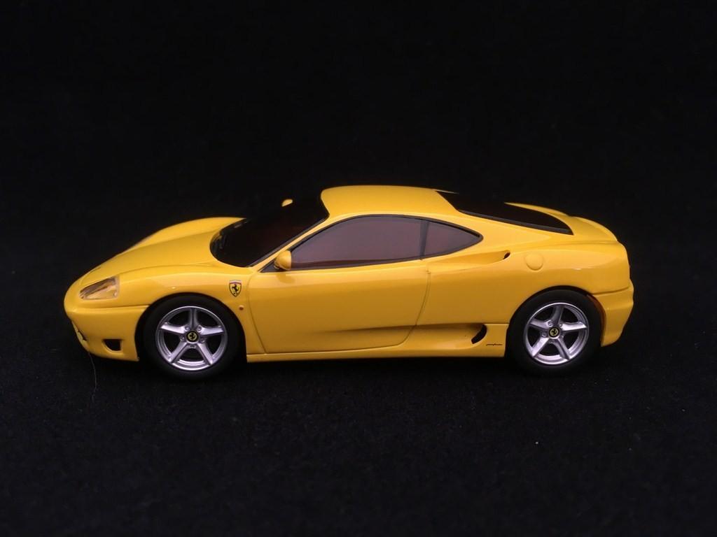 Ferrari 360 Modena Yellow 1 43 Kyosho Dnx403y Selection Rs