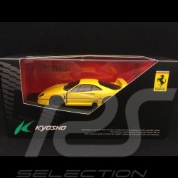 Ferrari F40 jaune 1/43 Kyosho DNX304Y