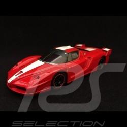 Ferrari FXX rouge bande blanche 1/43 Kyosho DNX506R