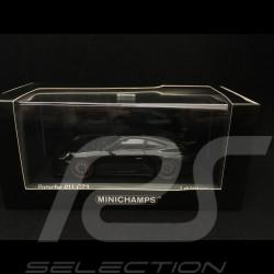 Porsche 911 GT3 type 991 phase II 2017 1/43 Minichamps 410066021 noir métallisé metallic black metallic schwarz