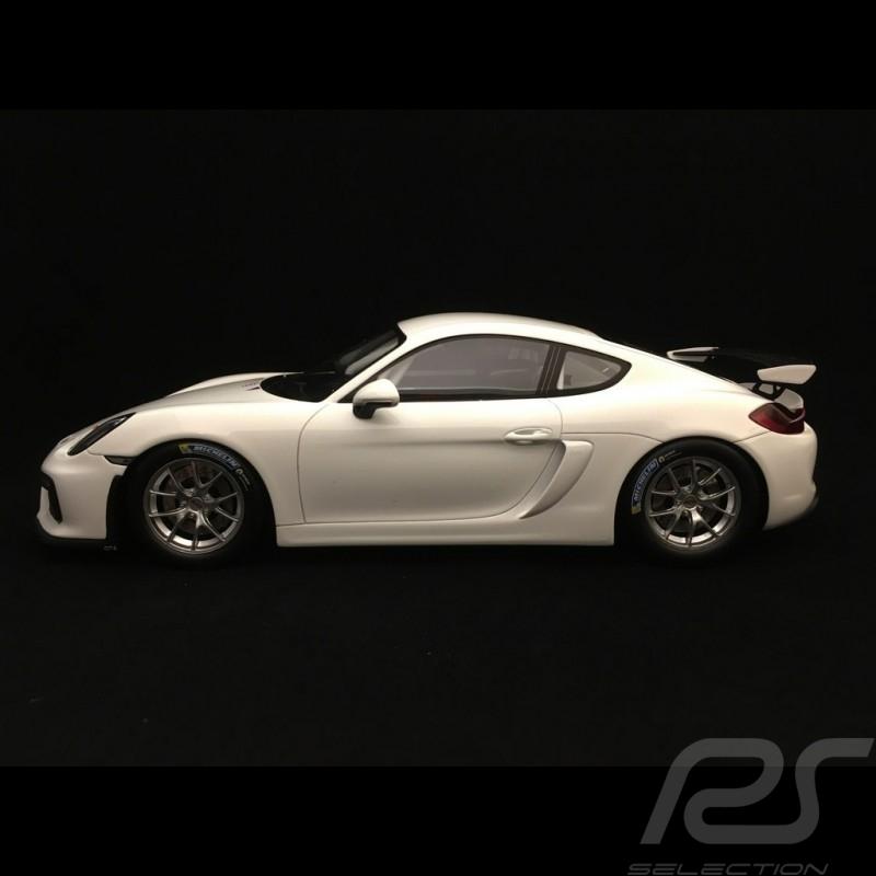 Porsche Cayman GT4 Clubsport 2017 1/18 Spark 18S260 blanc white weiß