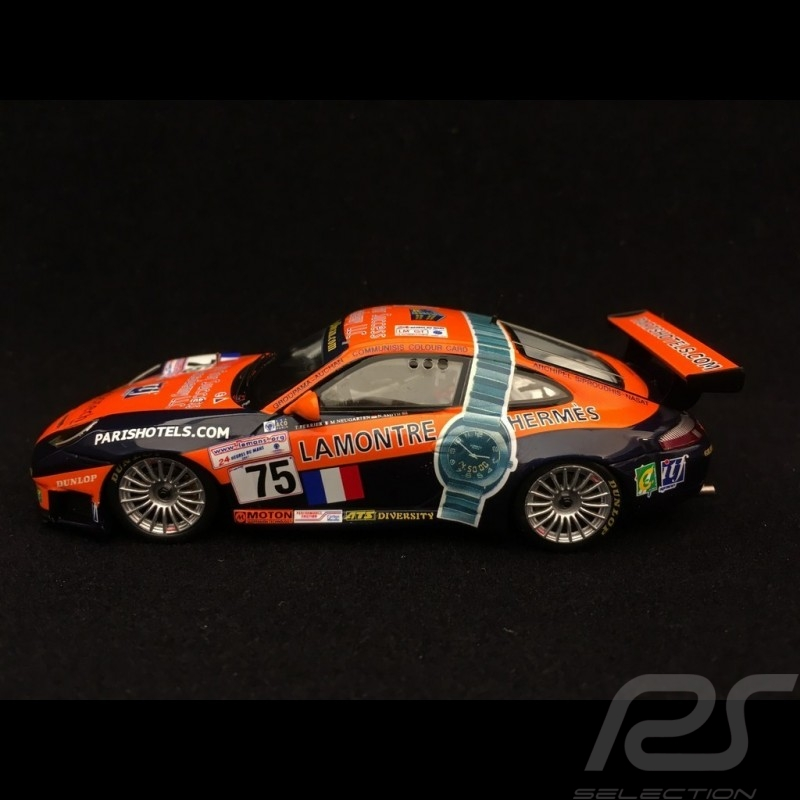 Porsche 911 GT3 RS type 996 Le Mans 2001 n° 75 Perspective Racing 1/43 Spark S4761