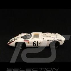 Porsche 907 Le Mans 1970 n° 61 Wicky 1/43 Spark S4745