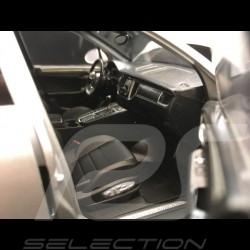 Porsche Macan Turbo 2013 1/18 Minichamps 110062504 gris argent silver grey silbergrau