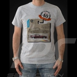 T-shirt Porsche 928 Anniversary 40 years grey - men