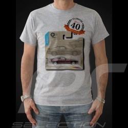 T-shirt Porsche 928 Geburgstag 40 Jahre grau - Herren