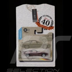 T-shirt Porsche 928 Anniversaire 40 ans years Jahre gris grey grau - homme men Herren