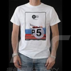 T-shirt Porsche 908 /03 Gulf n° 5 blanc - homme