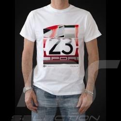 T-shirt Porsche 917 vainqueur winner Sieger Le Mans 1970 n° 23 blanc - homme men Herren