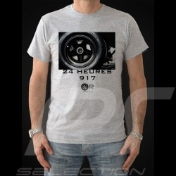 T-shirt Porsche 917 24 heures gris - homme men herren