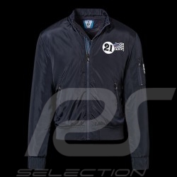 Porsche Jacket Martini Racing reversible quilted navy blue WAP560 - unisex