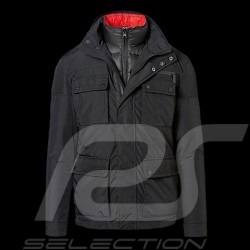 Porsche Jacket 2 in 1 multi use removable waistcoat black / red  WAP491 - men