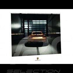 Calendrier Porsche 2018 Race Lab mit QR code Porsche Design WAP0920010J