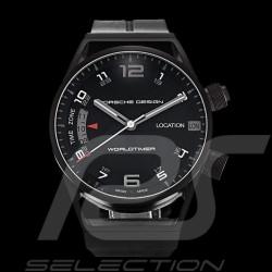 Montre automatique Porsche Worldtimer noire Porsche Design Timepieces 4046901032845
