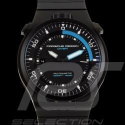 Montre automatique Porsche Diver Porsche Design Timepieces 4046901623593 noir black schwarz Automatic watcj Automatikuhr