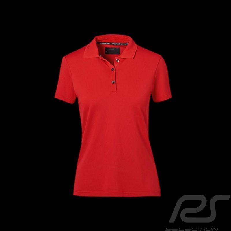 Porsche polo shirt Classic red Porsche design WAP494 - woman