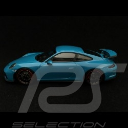 Porsche 911 GT3 type 991 phase II 2017 miami blue 1/43 Minichamps 410066022