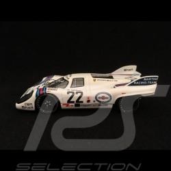 Porsche 917 K Vainqueur winner sieger Le Mans 1971 n° 22 Martini 1/43 Ixo LM1971