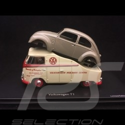 VW Combi T1 Midlands centre with beetle body 1/43 Schuco 450901900