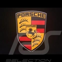 Aufkleber Porsche ehemaligen Wappen 12 x 9 cm
