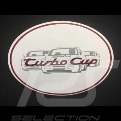 Autocollant Porsche Carrera GT1 1998 équipe d'usine 15 x 10 cm