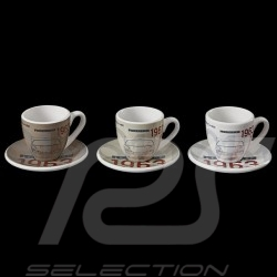 Set of 3 expresso cups Porsche 901 Classic 1963 limited edition Porsche Design WAP0503000H