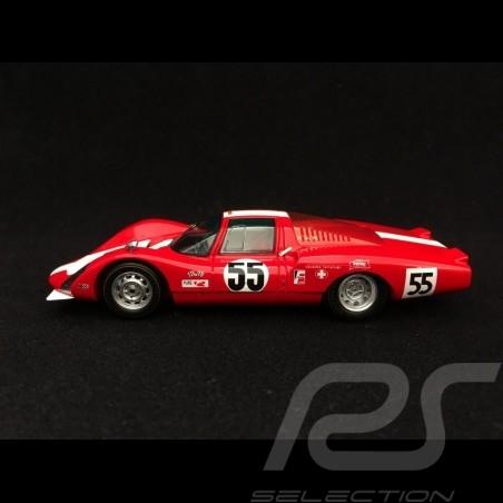 Porsche 906 LH Daytona 1967 n° 55 Squadra Tartaruga 1/43 Spark S5421