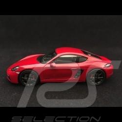 Porsche 718 Cayman GTS type 982 2017 1/43 Spark WAP0204200J rouge carmin red karminrot