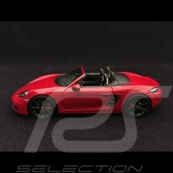 Porsche 718 Boxster GTS type 982 2017 1/43 Spark WAP0202070J rouge carmin red karminrot