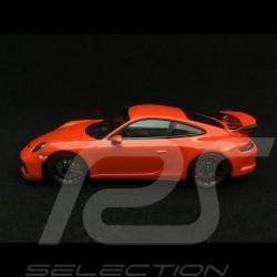 Porsche 911 GT3 type 991 phase II 2017 lava orange 1/43 Minichamps 410066024