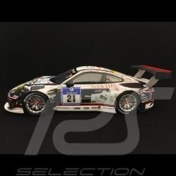 Porsche 911 GT3 R type 991 24h Nürburgring 2016 n° 21 Manthey 1/18 Minichamps 155166021
