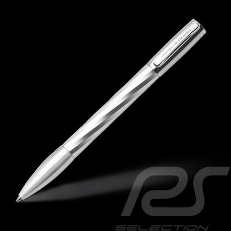 Porsche Design Shake Pen Big Twist ballpoint Pen Silver K3145