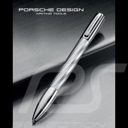 Stylo à bille Porsche Design Shake Pen Big Twist K3145 Argent Silver Silber